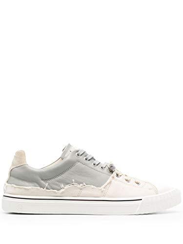 Maison Margiela Luxury Fashion Uomo S57WS0391P4136H8683 Bianco Cotone Sneakers | Primavera-Estate 21