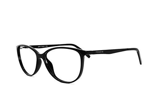 NOWAVE Occhiali neutri per PC, Tablet, TV e Gaming. Eliminano stanchezza e mal di testa | Montatura leggera per donna. Occhiali riposanti ANTI LUCE BLU 40% e UV 100% | Nuova Collezione | Greta