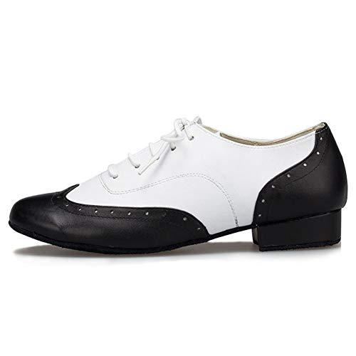 HROYL Zapatos Baile latín/Jazz estándar Hombres