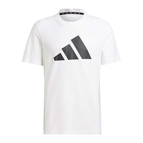 adidas GP9506 M Fi Tee BOS A T-Shirt Uomo White M