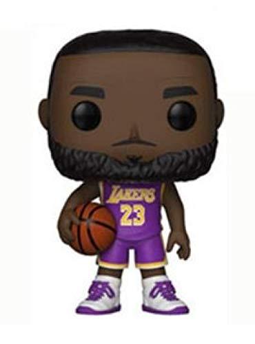 cheaaff Pop Toy NBA Superstar: Spurs Lebron James No.23 Personaggi Model Statue