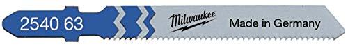 Milwaukee Jigsaw Blades T118A Metal Traditional Cut (5) 4932254063