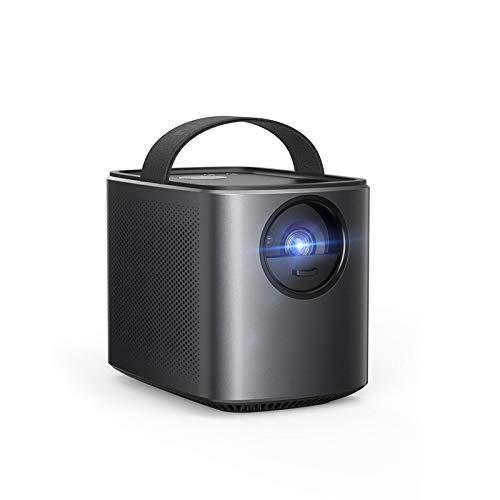 CYONGYOU Proyector portátil negro 720p imagen video proyector 30 a 150' EUPlug