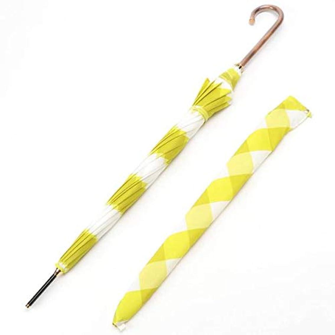 追加誰か卑弥呼RAIN(HIMIKO RAIN) 長傘 イエロー 直径95cm 晴雨兼用長傘 013014