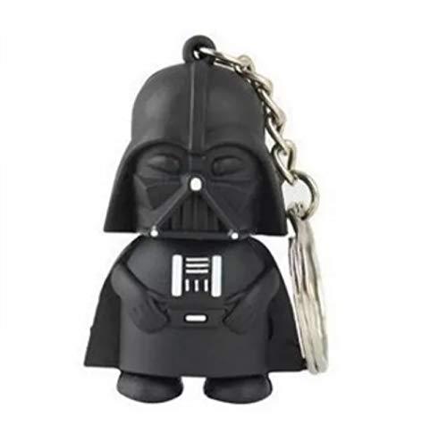 Darth Vader Schlüsselanhänger aus Gummi für Schlüsselbund und Rucksäcke - lustiges Geschenk für Star Wars Fans