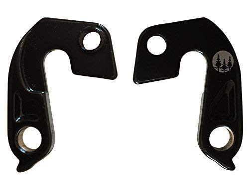 Forest Byke Company Set of 2 Derailleur Hangers for Specialized Stumpjumper Hardrock Hotrock S-Works Enduro Fatboy Camber Epic Crave Rockhopper Part Numbers 9895-4021 Dropout 65