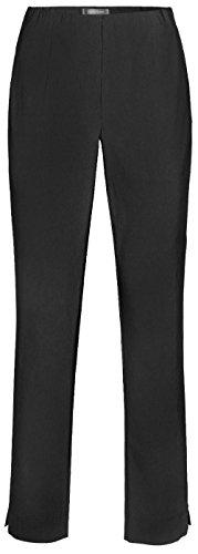 Stehmann INA-740, bequeme,stretchige Damenhose, Schwarz, 40