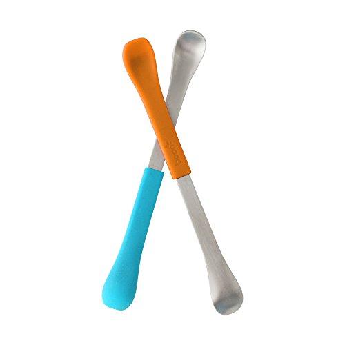 ABUS aluminium hangslot 1 blauw/oranje