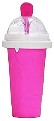 ZINE Slushie-Maker-Becher, Magic Quick Frozen Smoothies Cup Double Layer Squeeze Cooling Cup TIK Tok Slushy Maker, hausgemachte Milch Shake Ice Cream Maker