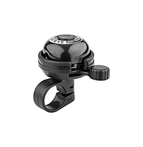 Cateye Pb-600 Super Mini Bell Fahrradklingel, Schwarz, Einheitsgröße