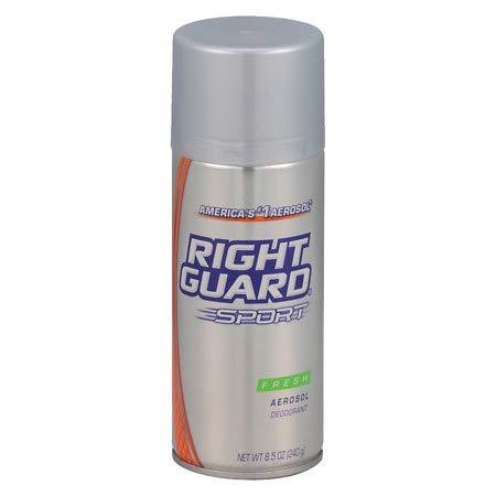 Right Guard Sport Deodorant Spray Fresh - 8.5 oz, Pack of 6