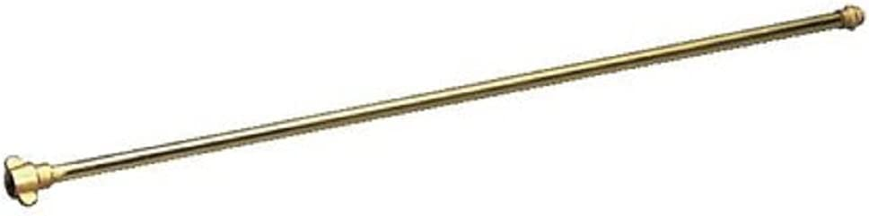 Gloria Lanza de alargamiento telescópica de latón Modelo 124, 50 cm