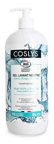 Coslys Hygiène Corps et Cheveux Gel Lavant Universel 1 L