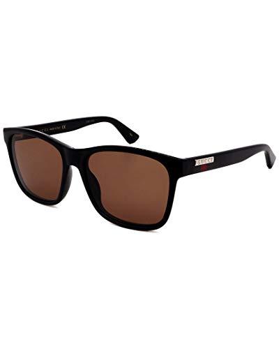 Gucci Occhiali da sole GG0746S 002 occhiali Uomo colore Nero lente marrone taglia 57 mm