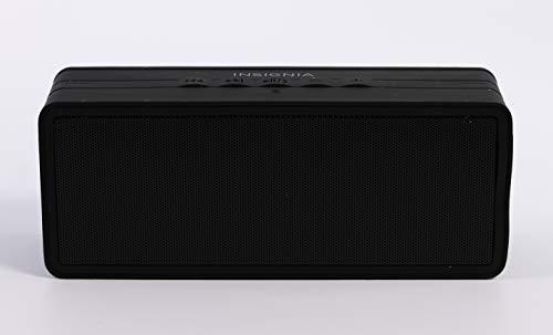 Insignia - Portable Bluetooth Stereo Speaker - Black