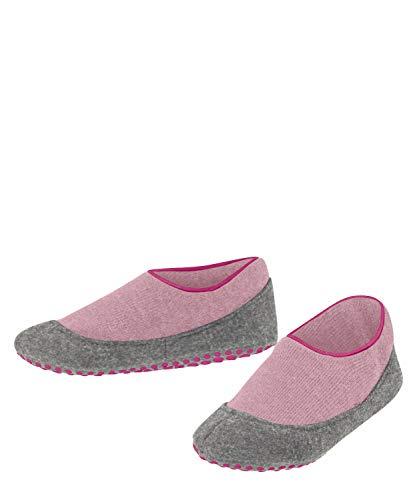 FALKE Unisex Kinder Cosy Slipper Stoppersocken, rosa (Almond Blossom 8441), 27-28