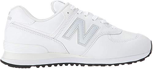 New Balance 574v2 Zapatillas Hombre, Blanco (Munsell White/Nimbus Cloud Lpw), 42 EU (8 UK)