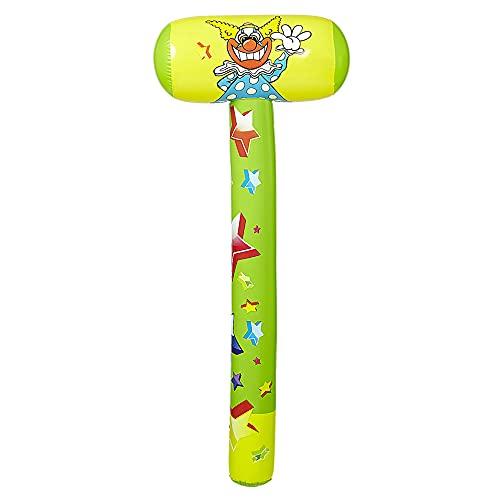 Widmann 04829 - Aufblasbarer Hammer, 96 cm, Partyspiel