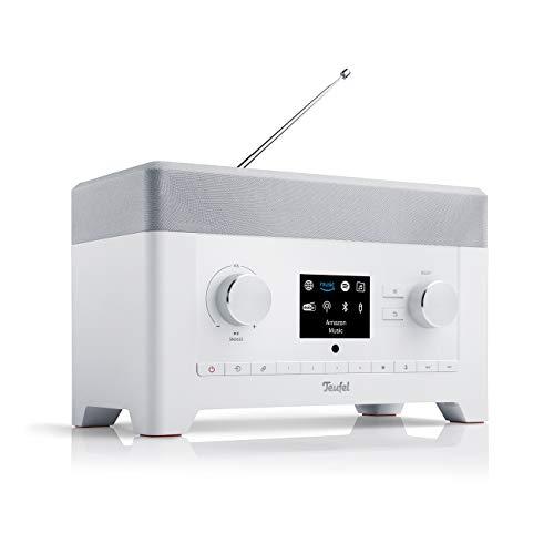 Teufel Radio 3SIXTY Weiß Stereo Lautsprecher Musik Sound Subwoofer Soundanlage Speaker Bluetooth DAB+ Internet Radio