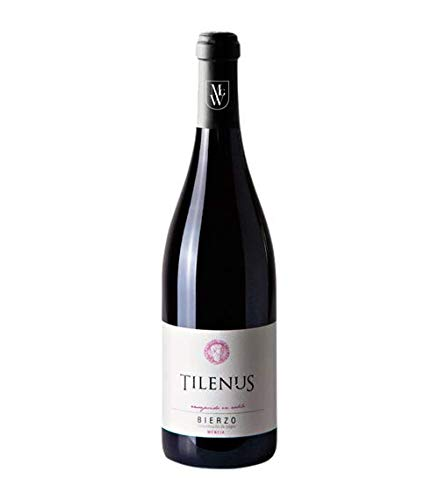 Botella Vino Tinto Tilenus Envejecido en Roble Mencía 2017 Denominación Origen Bierzo