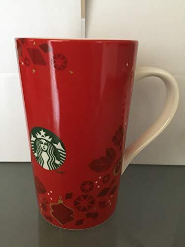 Starbucks Becher TASSE Rot Holiday mit Bewässerung, 16 Fl Oz