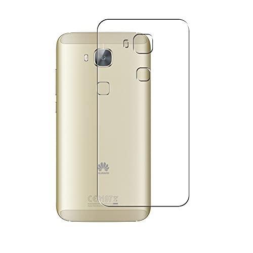 VacFun 2 Piezas Protector de pantalla Posterior, compatible con Huawei G7 Plus, Película de Trasera de TPU Skin Piel