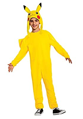 The Pokemon Child Pikachu Deluxe Costume Size 4/6 from Disguise