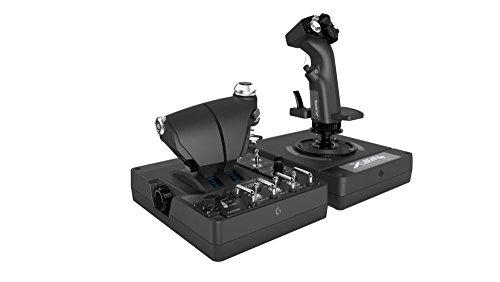 ロジクール シミュレーションコントローラ X56 HOTAS ブラック G-X56R