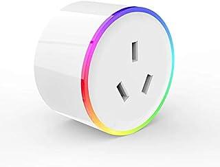 Aiconez Mini Smart Plug Mini Power Outlet Wi-Fi Enabled Smart Socket Compatible with Amazon Alexa Google Home Remote Contr...