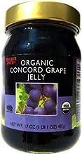 Trader Joe's Organic Concord grape Jelly 17 oz (Case of 3)