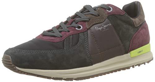 Pepe Jeans London Herren Tinker PRO 19 Sneaker, Grau (Antracite 982), 42 EU