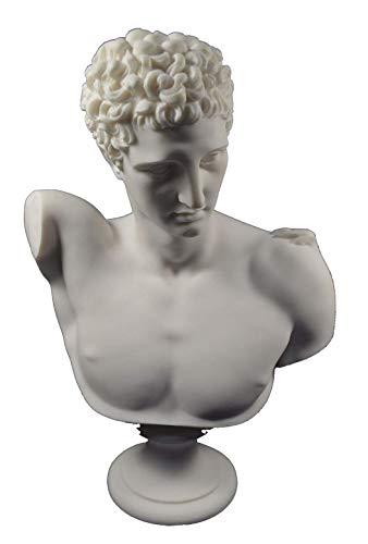 Estia Creations Hermes Escultura Antiguo Mensajero Griego de los Dioses Gran Estatua