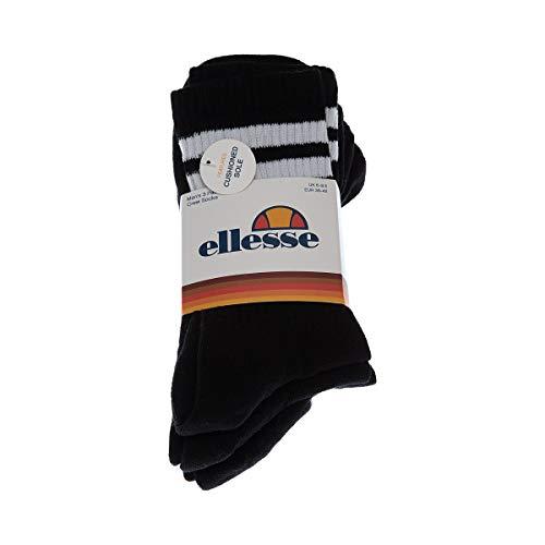 ellesse Socken PULLO 3PK SAAC0620 Schwarz Black, Size:38-42