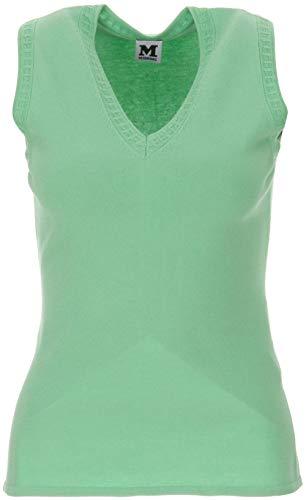 M Missoni Top Verde multicolore 44