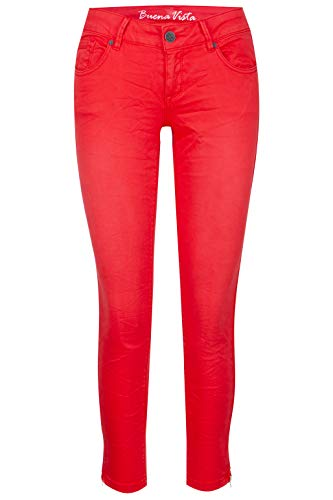 Buena Vista Jeans Italy 7/8 Stretch Twill in Rot, Größe S