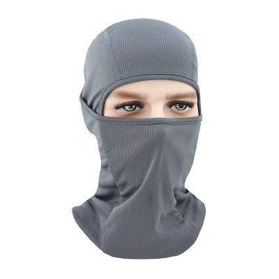 Jcsz winddicht ski masker winter motorfiets nek warme tactieken dames mannen jeugd snowboard paardrijden hoed outdoor helm pad masker DARK GRIJS