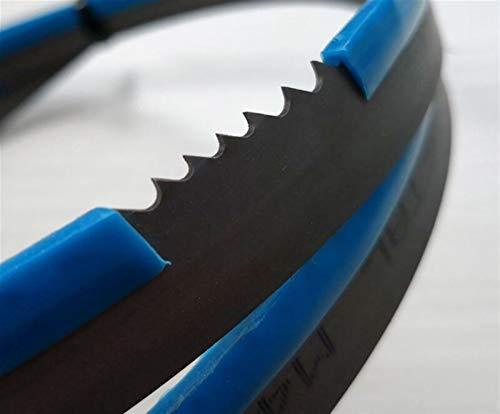 LT-DISCS, 2360 * 19 * 0,9 mm * 4/6 dientes M42 Bi-metal sierras de cinta 19 * 0,9 * 2360mm * 3 hojas de sierra / 4Tpi cinta for corte de madera dura y suave del metal ( Color : 1 Piece 4 6 Teeth )
