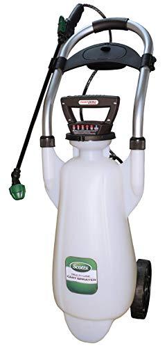 Scotts 190617 Lithium-ion Pump Zero Wheeled Sprayer, 3 Gallon, 3-Gallon, Powered Cart