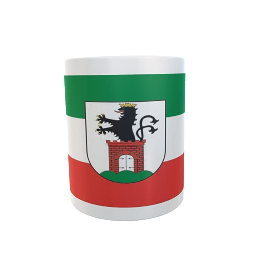 U24 Tasse Kaffeebecher Mug Cup Flagge Bergen auf Rügen