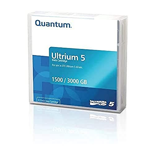 Quantum MR-L5MQN-01 LTO Ultrium 5 1.5/3.0TB Data Cartridge (Brick Red)