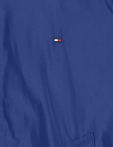 Tommy Hilfiger Reversible Bomber Chaqueta, Azul, Large (Talla del Fabricante:) para Hombre