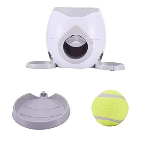 Juguete para el alimentador de Pelotas para Mascotas, Lanzador automático de Pelotas de Tenis para el alimentador para Mascotas, Juguetes para adiestramiento de Perros