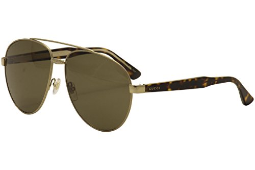 Gucci GG0054S zonnebril, goud, één maat, unisex