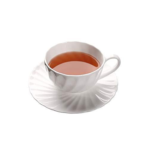 SXXYTCWL Cappuccino de Porcelana Tazas con platillos for Caf
