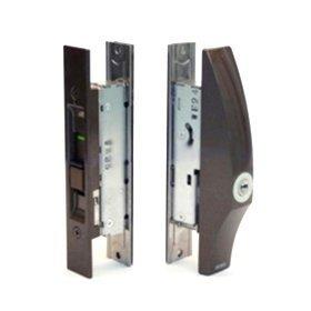 MIWA SL09-1LS-CB 取替え用 アルミサッシ 引戸錠 召合せ PSキー5本付属 鍵 交換 取替え 内網戸対応 SMKH-UB SL02代替品 美和ロック SL09 万能型 引き戸 引違戸