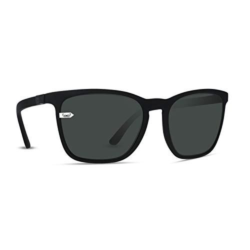 gloryfy unbreakable eyewear Unisex (Gi26 Kingston Black in Black) - Unzerbrechliche Sonnenbrille, Sport, Damen, Her Sonnenbrille, Schwarz, Erwachsenen Sonnenbrille EU