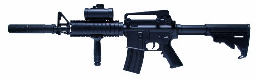 Schmeisser, Fucile Softair Softair Gewehr AR-15 Tactical, Nero (Schwarz)