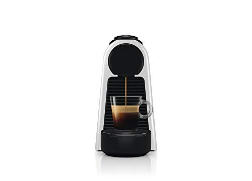 Nespresso Cafetera Essenza Mini, Color Plata (Incluye obsequio de 14 cápsulas de café), Pequeña