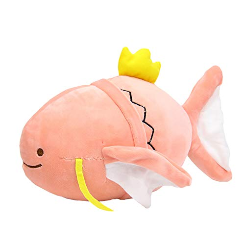 Jineyshun Legendary Magikarp Ditto Plüschpuppe, weiches Kissen, Monster, mythisch, originelles Dekor Center