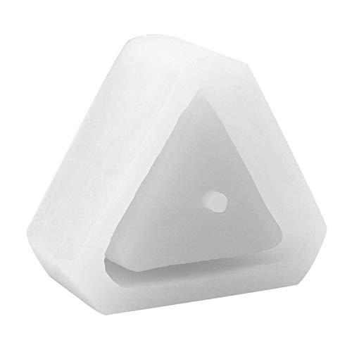 Tiamu Triangular Silicone for Epoxy Resin Concrete Clay Succulent Plant Pot Ashtray Pen Pot Bonsai